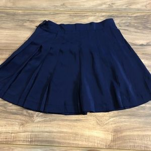 Adidas Navy Blue Tennis Skirt 10
